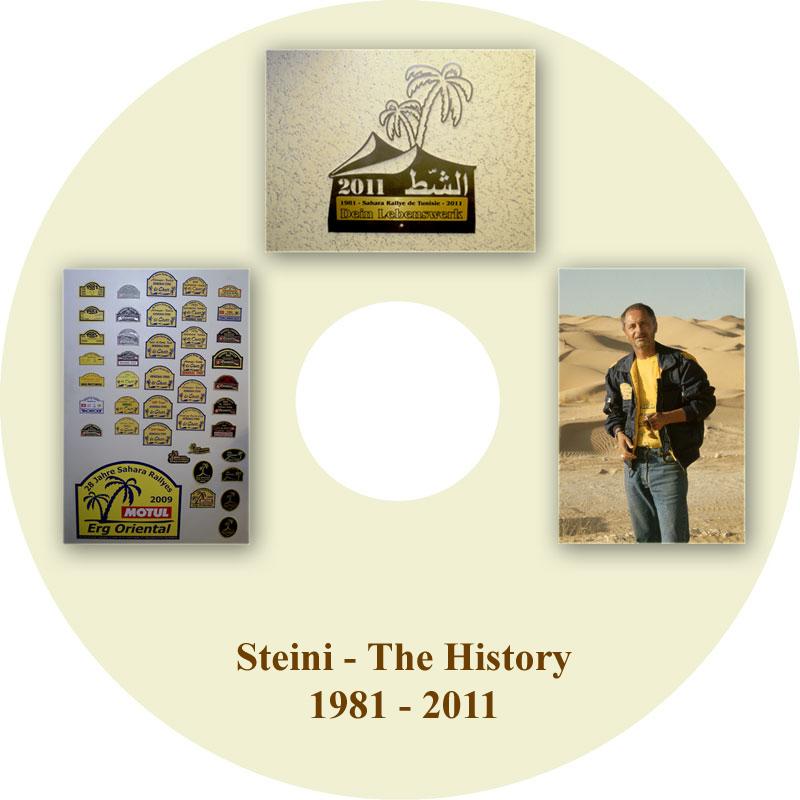 DVD Steini The History 1981 - 2011
